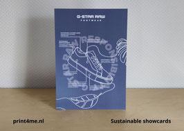 Showcard GREEN A5