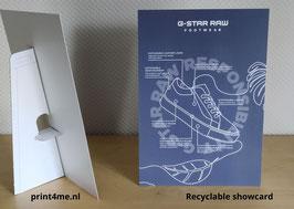 Showcard GREEN A6
