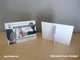 Showcard Low Budget A6 MAT