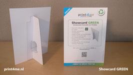 Showcard GREEN A4