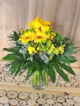 """Blumenstrauß  """"Gelb in Gelb"""""""