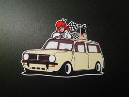 Sticker Mini clubman