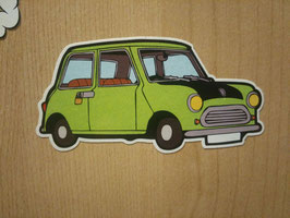 Mini Mr Bean Sticker