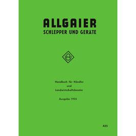 Handbuch für Händler und Landwirtschaftsberater - Allgaier Schlepper