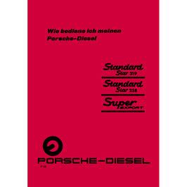 BA Betriebsanleitung Standard Star 219, 238,Sup. 329 , ( Super 339)