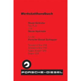 T25 - Getriebe Deutz Werkstatthandbuch