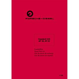 ETL Ersatzteilliste Standard 218, AP18, AP22