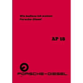BA Betriebsanleitung AP18