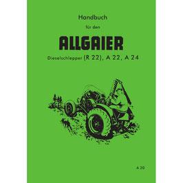 Handbuch Allgaier Schlepper R22, A22 und A24