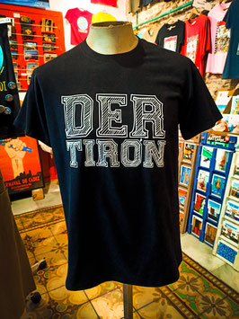 "Camiseta ""DER TIRÓN"" Unisex color Negro"