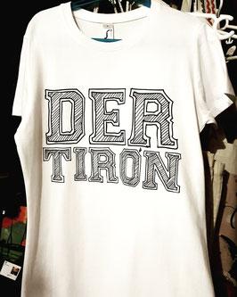 """Camiseta """"DER TIRÓN"""" Hombre color blanco"""