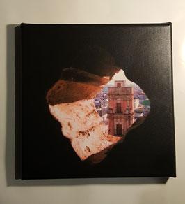 "Fotolienzo ""La Bella escondida"" 20x20"