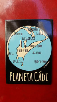 "Imán ""Planeta Cadi"" de SKaYLINE"