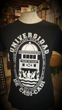 """Camiseta """"Universidad de Cadi-Cadi"""" Hombre color azul marino"""