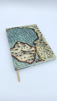"""Libreta """"Cartografía Baia de Cadis"""" (A5)"""