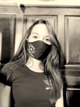 Behelfsmaske I Mund-Nasenschutz mit Filtertasche