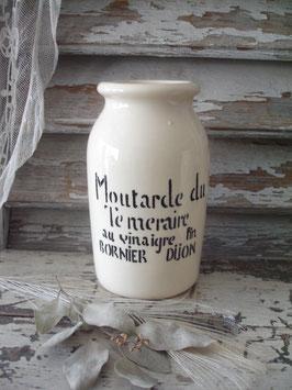 Alter großer Senftopf aus Dijon Frankreich