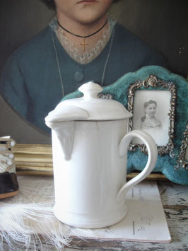Antike Schokokanne Keramik Petrus Regout