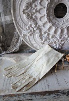 Edwardianische Ziegenleder Damen Handschuhe 1900