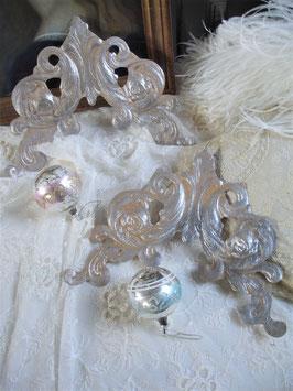 Shabby: Alte Weihnachtsdeko Ornament Dresdener Pappe