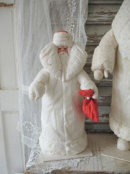 Alte Wattefigur Weihnachtsmann / Väterchen Frost