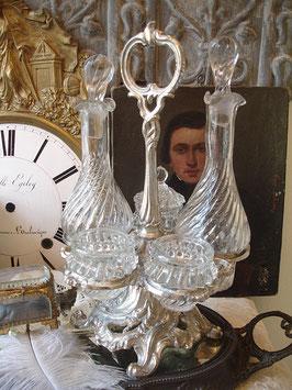 Wunderschöne dekorative Menage aus Frankreich