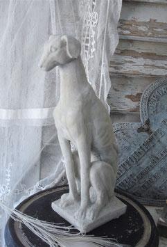 Dekorative kleine Steinfigur Hund