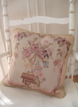 French country: Traumhaftes Aubusson Kissen