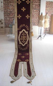Imposante antike Fahne / Flagge aus England