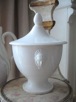 RAR: Antiker Sucrier aus Frankreich GIEN 1870