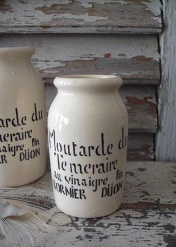 Alter Senftopf aus Dijon Frankreich