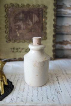 Antiker Steingut Topf aus Frankreich 1900