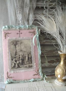Seltenes antikes Kommunions-Buch Frankreich 19. Jahrhundert