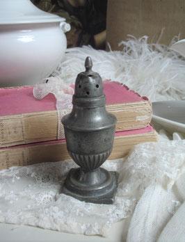 Dekorativer alter franz. Zuckerstreuer Zinn