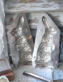 Große alte Schokoladenform Osterhase aus Holland