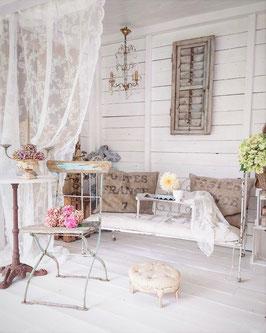 Antikes Eisenbett / Kinderbett aus Frankreich - Kein Versand