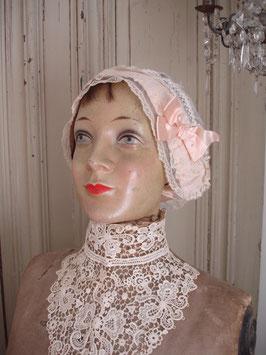 Dekorativer antiker Hutkopf Mannequin um 1930