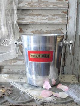Dekorativer Champagner Kühler Piper Heidsieck