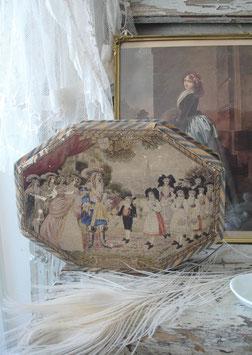Wunderbare alte große Konfektschachtel aus Frankreich
