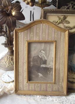 Antiker schöner Messing Rahmen um 1890