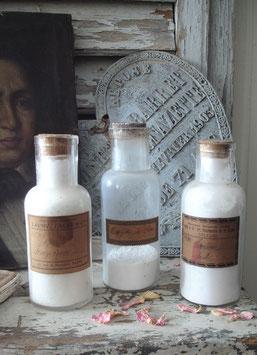 Set alte französische Apothekergläser / Apothekerflaschen