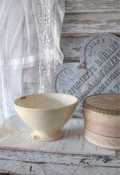 Sooo shabby: Uralte GIEN Keramik Bol aus Frankreich