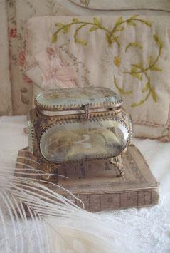 Antike Schmuckschatulle um 1900 Frankreich