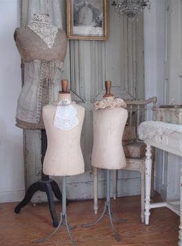 RAR: Antike Kinder Schneiderbüste Frankreich