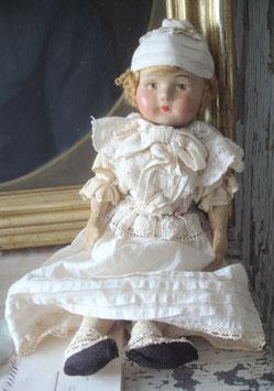 Shabby: Süße sehr alte Puppe aus Frankreich