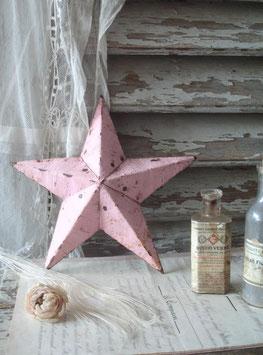 Shabby: Dekorativer Amish Stern aus Metall