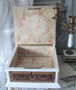 Antike große französische Schmuckschatulle 19. Jahrhundert