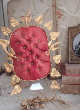 Antiker Brautständer Kissen Frankreich um 1880