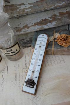 Schönes altes Thermometer Emaille Frankreich