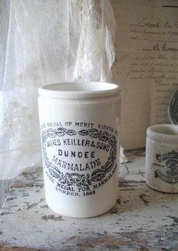 Shabby: Alter Marmeladentopf Dundee von 1862 England